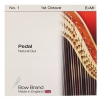 Bow Brand : Pedal Natural Gut 1st E No.1
