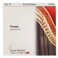 Bow Brand : Pedal Natural Gut 2nd E No.8