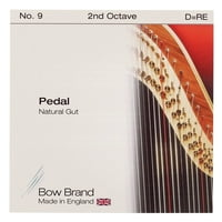 Bow Brand : Pedal Natural Gut 2nd D No.9