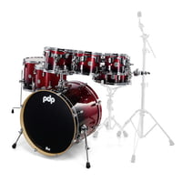 DW : PDP CM7 Rock Red to Black