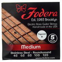 Fodera : 5-String Set Medium SS TB