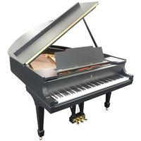 Steinway and Sons : M-170 black mat