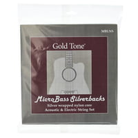 Gold Tone : MBLNS Micro Bass String Set