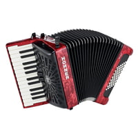 Hohner : Bravo II 48 Red silent key