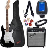 Fender : Squier Mini Strat V2 BK Set SQ