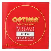 Optima : 2155 24K Mandolin Gold Strings