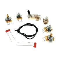 Allparts : Semi-Hollow Wiring Kit
