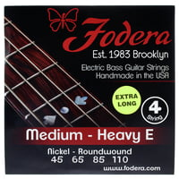 Fodera : 4-String Set 45110 XL Nickel