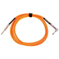 Ernie Ball : Instrument Cable Neon Orange