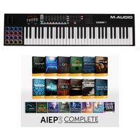 M-Audio : Code 61 Black - AIEP3 Bundle