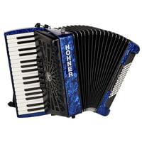Hohner : Bravo III 72 Blue silent key