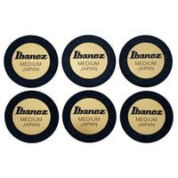 Ibanez : PPA1M-BK Round Shape Pick Set