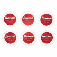 Ibanez : PPA1M-WH Round Shape Pick Set