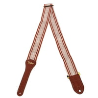 Taylor : Academy Strap White/Brown