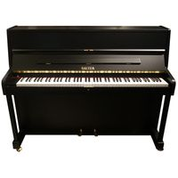 Sauter : Piano, used, black satin
