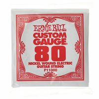 Ernie Ball : 080 Single String Wound Set