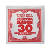 Ernie Ball : 030 Single String Wound Set