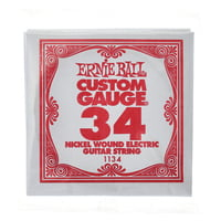 Ernie Ball : 034 Single String Wound Set