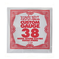 Ernie Ball : 038 Single String Wound Set