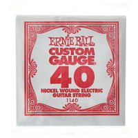 Ernie Ball : 040 Single String Wound Set