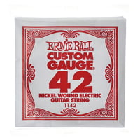 Ernie Ball : 042 Single String Wound Set