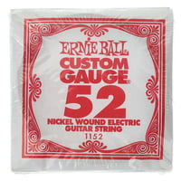 Ernie Ball : 052 Single String Wound Set