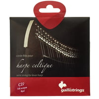 Galli Strings : Lever Harp Bass Wire C27