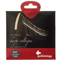 Galli Strings : Lever Harp Bass Wire B28