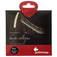 Galli Strings : Lever Harp Bass Wire F31