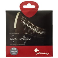 Galli Strings : Lever Harp Bass Wire D33
