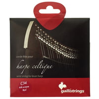 Galli Strings : Lever Harp Bass Wire C34