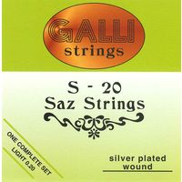 Galli Strings : S020 Saz Strings Set