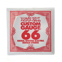 Ernie Ball : 066 Single String Wound Set