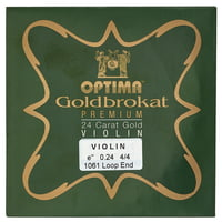 Optima : Goldbrokat 24K Gold e\