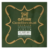Optima : Goldbrokat 24K Gold e\