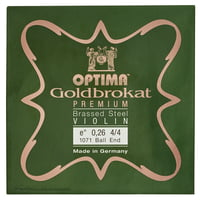 Optima : Goldbrokat Brassed e\