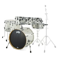 DW : PDP CM7 Rock Pearlescent White
