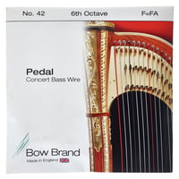 Bow Brand : Pedal Wire 6th F String No.42