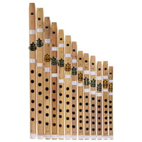 Thomann : Nataraj 13 Bansuri Flutes StBl