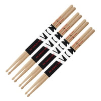 Vic Firth : 7A American Hickory Value Pack
