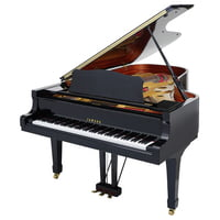 Yamaha : C7 A Grand Piano used, Black