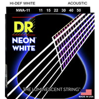 DR Strings : DR NEON Hi-Def White  011-050