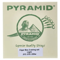 Pyramid : Cigar Box 3 Light