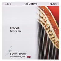 Bow Brand : Pedal Natural Gut 1st G No.6