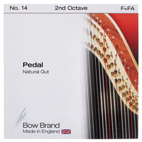 Bow Brand : Pedal Natural Gut 2nd F No.14