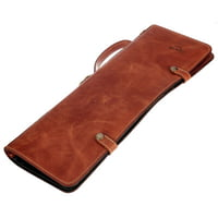 Zultan : Leather Stick Bag Tan Brown