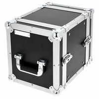 Flyht Pro : Stage Rack 1/2 6U Double Door