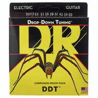 DR Strings : DR DROP-DOWN TUNING - DDT7-11
