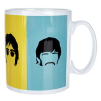 My World : Beatles Blue And Yellow Mug