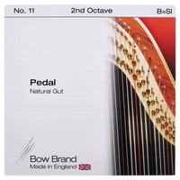 Bow Brand : Pedal Nat. Gut 2nd B No.11